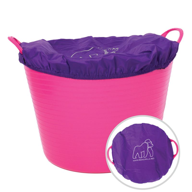 Red Gorilla Fabric Bucket Covers