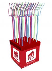 Gorilla Straight Handled Fork-Profit Pack- 24 Mixed